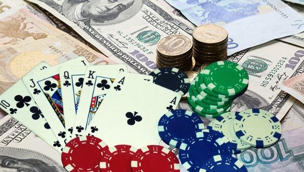 Покер на рубли.