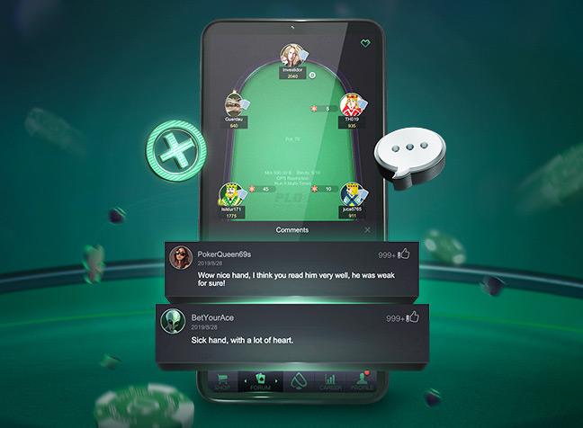 Мобильная версия для игры в покер рума PPPoker.